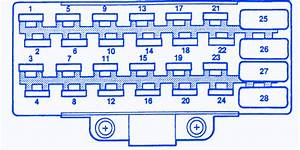 Jeep Zj 1995 Main Fuse Box  Block Circuit Breaker Diagram