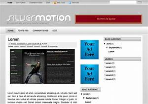 silver motion blogger template 2014 free download With motion 4 templates free download