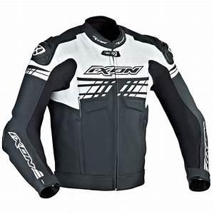 Taille Blouson Moto : blouson moto ixon exocet noir blanc en stock ~ Medecine-chirurgie-esthetiques.com Avis de Voitures