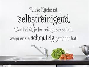 Sprüche Für Die Küche : kuechen wandtattoo spruch einschlie lich gut stil ~ Watch28wear.com Haus und Dekorationen