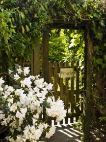 Secret Garden Gate Entrance