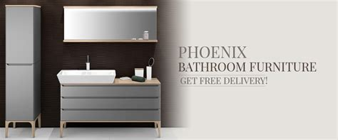 Phoenix Bathroom Furniture And Storage Units   QS Supplies