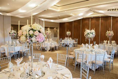 elegant wedding flowers james  rachels wedding