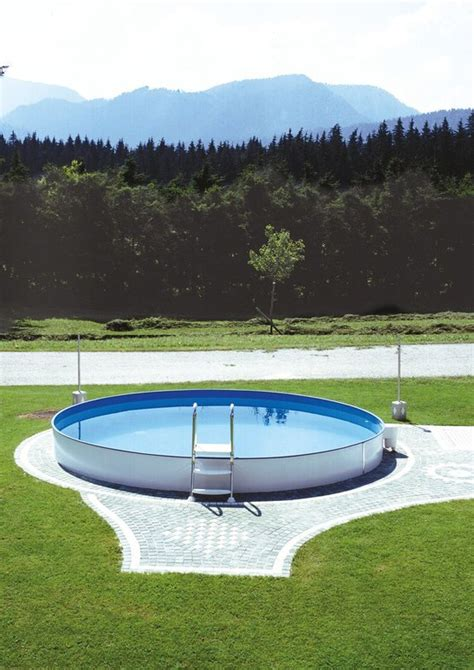 pool 150 tief stahlwandpool styria pool only rund 150 cm tief robuster und starker pool steinbach