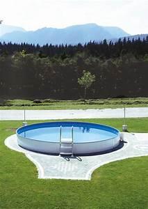 Pool 150 Tief : stahlwandpool styria pool only rund 150 cm tief robuster und starker pool von steinbach ~ Frokenaadalensverden.com Haus und Dekorationen