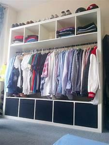 Ikea Offener Kleiderschrank : gegen den einheitsbrei 9 clevere ikea hacks die dein zuhause aufmotzen upcycling pinterest ~ Eleganceandgraceweddings.com Haus und Dekorationen