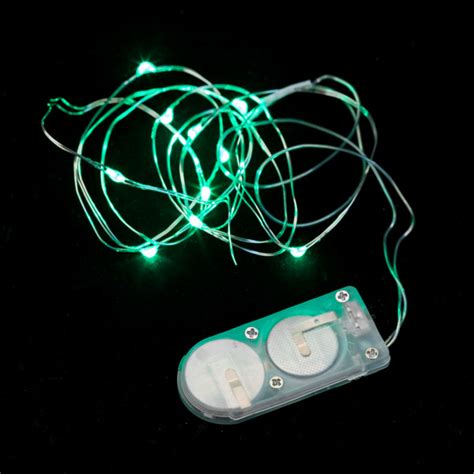 micro led string lights 10 micro led green submersible string light