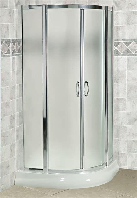 corner shower doors fleurco arista eu40 curved glass corner sliding shower