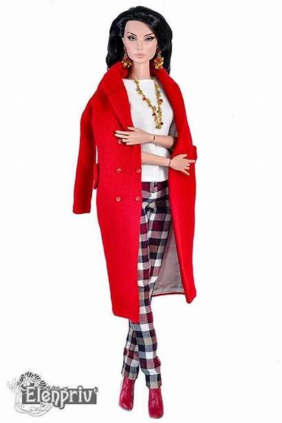 Coat Wool Doll Barbie Wu Jason Lining