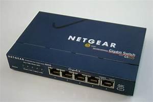 Netgear Gigabit Switch 5 Port Gs105 606449029697