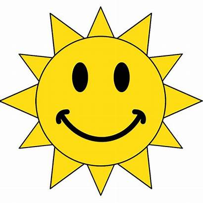 Sun Smiling Face Smiley Clipart Animated Powerpoint