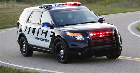 Ford Chases Down Higher Police Car Sales