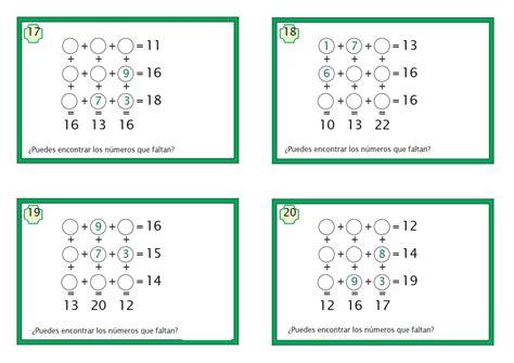 Guardarguardar juego matematico 3.pdf para más tarde. juegos matematicos de sumas (5) - Orientación Andújar - Recursos Educativos
