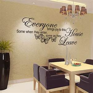 Wall decoration stickers words pixshark images