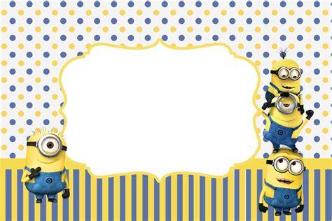 minions invitation template minions invitaciones para imprimir gratis ideas y material gratis para fiestas y