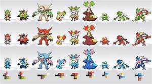 Shiny Starters Gen 6 | www.imgkid.com - The Image Kid Has It!