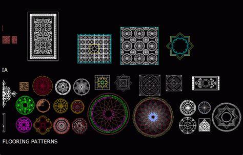 patterns  dwg block  autocad designs cad