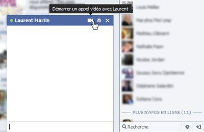 facebook appel video