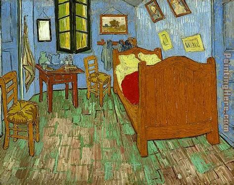 Gogh Bedroom Painting by Vincent Gogh The Bedroom Painting Anysize 50