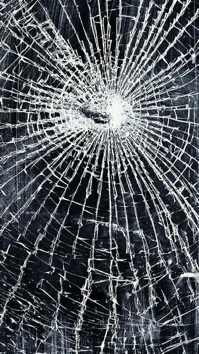 Screen Phone Broken Cracked Wallpapers Mirror Iphone