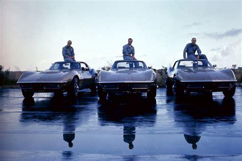 Apollo 12 Corvettes by Fast Cars And Rod Astronauts