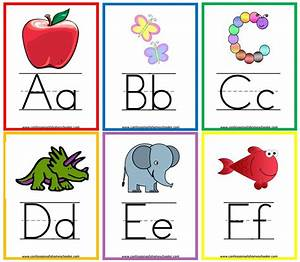 13 sets of free printable alphabet flash cards for Flash cards alphabet letters