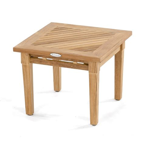 westminster teak outdoor end table westminster teak