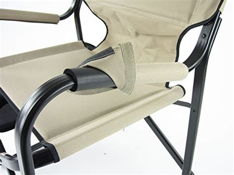 Onway Aluminum Portable Folding Deck Chair With Side Table (khaki) Ashley Furniture Chairs Hanging Indoor Baseball Glove Bean Bag Chair White And Gold Dicks Sporting Goods Lift Prices Office Assembly Hair Stylist