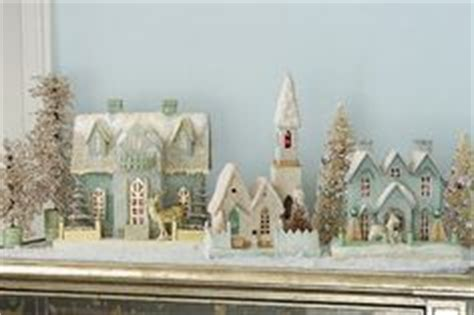 Winter, Putz Houses And Christmas On Pinterest