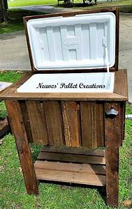 Pallet Wood Cooler Pallet Ideas: Recycled / Upcycled