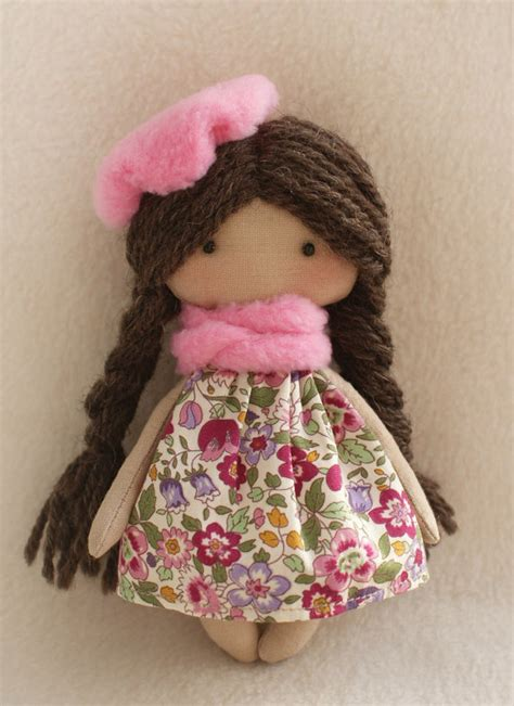 diy kit rag doll making supplies simple   dolls girl