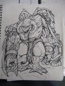 Demon Monster Drawings