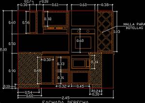Kitchen DWG Elevation for AutoCAD • Designs CAD