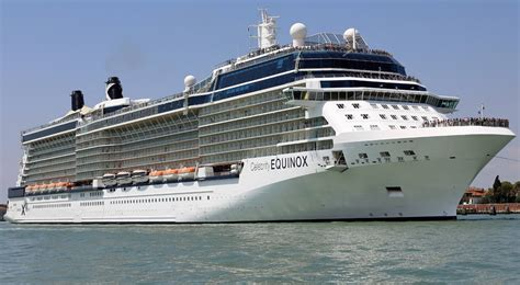 Celebrity Equinox - Itinerary Schedule Current Position | CruiseMapper