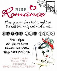 17 best images about pr ideas on pinterest goody bags for Pure romance invite ideas