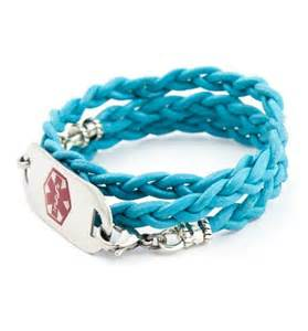 Medical ID Wrap Bracelet