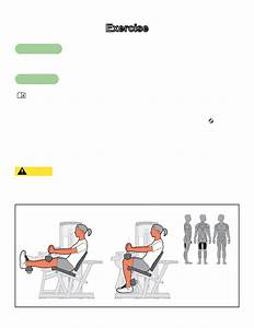 Exercise  Intended Use  Instructions