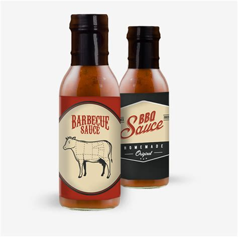 Bbq Sauce Label Template Bbq Sauce Label Template 10 Sizzling Barbecue Sauce Label