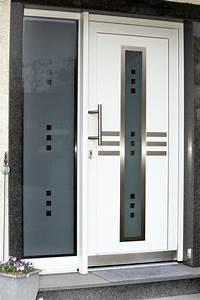 Wohnungstür Mit Glas : moderne haust r mit silber verzierungen und glas fenster ~ Michelbontemps.com Haus und Dekorationen