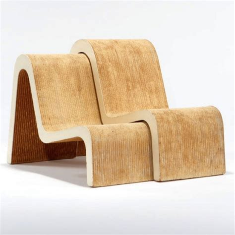 pair of nested chairs by frank o gehry chairblog eu