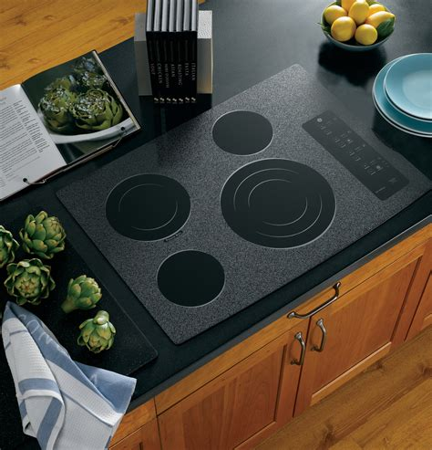 ge profile series  built  electric cooktop ppwmww ge appliances