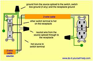 Wiring Diagram For A Switched Outlet
