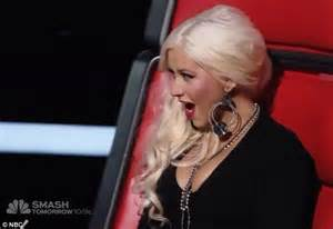 The Voice: Christina Aguilera gets a blast from the past ...