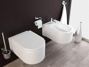 Wc Und Bidet : wand h nge wc h nge bidet inkl soft close wc sitz kb65 ~ Lizthompson.info Haus und Dekorationen