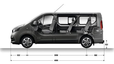 renault trafic dimensions dimension trafic passenger vans renault uk