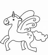 Unicorn Flying Coloring Pages Printable Prints Play sketch template