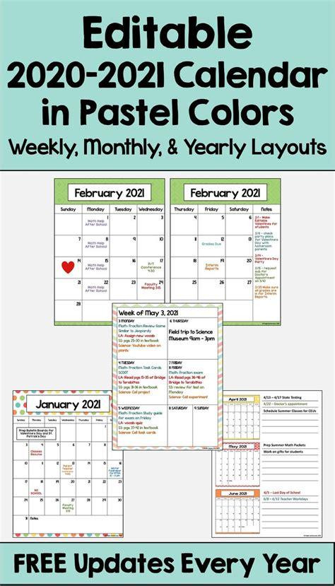 calendar printable  editable