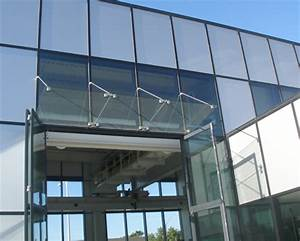 Glass Awning Awning Glass Entrance Canopy Anderson Door