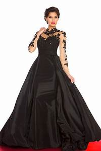 Light Pink Lace Mother Of The Bride Dress A Line High Neck Open Back Black Taffeta See Through Long