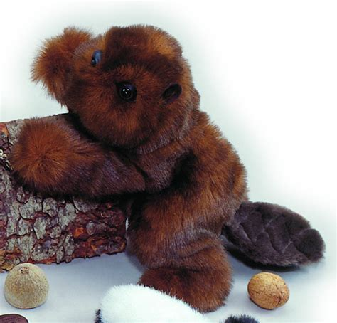 Timber Jr Beaver Nature Babies Stuffed Animal By Purr